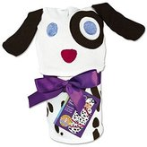 Sozo Baby Newborn Dalmation Swaddle Blanket and Cap Set by