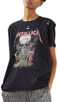 Topshop PETITE Metallica Nibble T-Shirt by And Finally