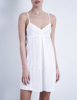 Bodas Shadow Stripe cotton nightdress