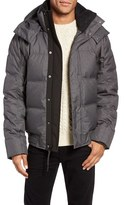 Andrew Marc Men's Coventry Quilted Down Bomber Jacket