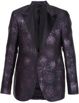 Lanvin firework jacquard tuxedo blazer