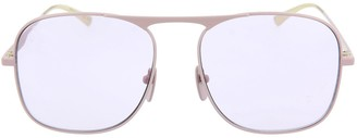 Gucci D-Frame Metal Sunglasses