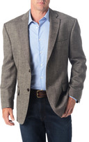 Haggar Wool Blend Donegal Sport Coat