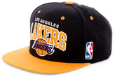 Mitchell & Ness Lakers Two Tone Arched Snapback