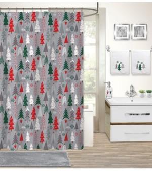 Idea Nuova Holiday Tree 17-Pc. Bath Set Bedding