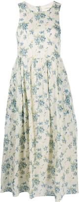 The Great Linden floral-print dress
