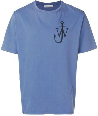 J.W.Anderson logo-print crewneck T-shirt