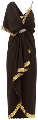Gucci Naomi Crystal-embellished Dress - Womens - Black
