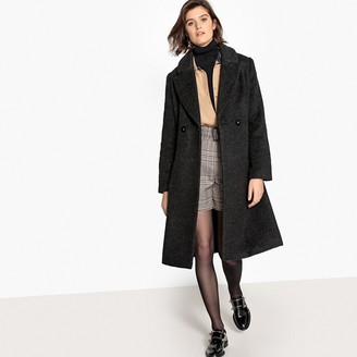 La Redoute Collections Tailored Wool Mix Coat
