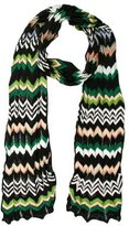 M Missoni Open Knit Chevron Scarf