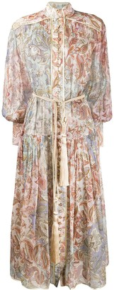 Zimmermann Paisley Print Dress