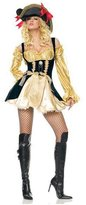 Happy Co. Happy&co Costumes Women's Cosplay Pirate Dress Luxury Pirate Costume