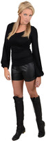 Union of Angels Lexi Faux Leather Short 3680041093