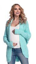 Happy Mama Boutique Women?s Pregnancy Cardigan Maternity Batwing Sweater 329p