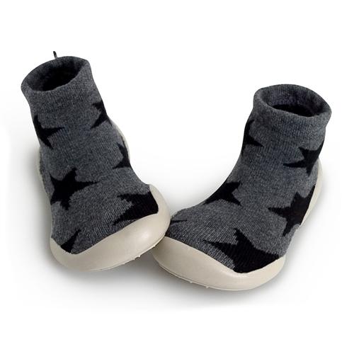 Collegién Nununu Slippers - Charcoal Stars