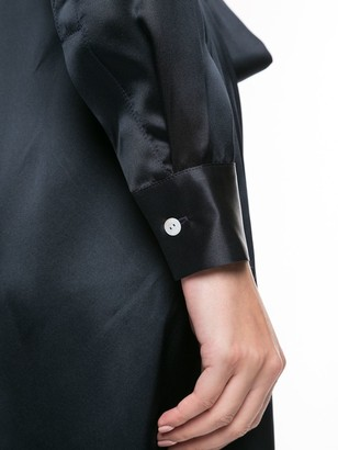 POUR LES FEMMES Mini Shirt Dress