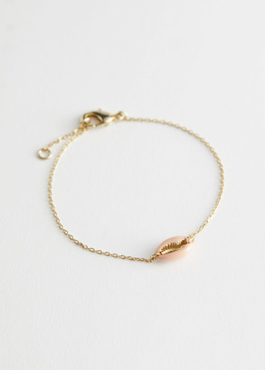 And other stories Shell Pendant Chain Bracelet