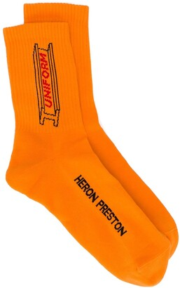 Heron Preston Uniform ribbed socks