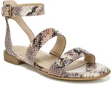 Naturalizer Soul Rayelle Snakeskin Embossed Strappy Sandal - Wide Width Available