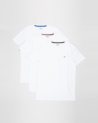 Hollister 3-Pack Crew Tee