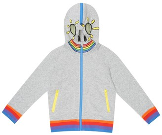 Stella McCartney Kids Cotton-jersey hoodie