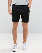 Jack & Jones Core Jersey Shorts With Rib Side Detail