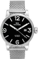 TW Steel Men's Maverick Stainless Steel Mesh Automatic Watch - MB15
