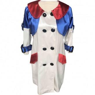 Max Mara White Trench Coat for Women