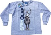 Disney Boys Frozen Olaf T-shirt | Olaf L/S Tshirt | Official | SVEN & OLAF | Youth | 5-6 |
