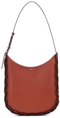 Chloã© Darryl Medium leather shoulder bag