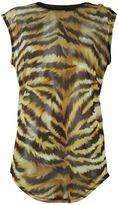 Balmain tiger print top