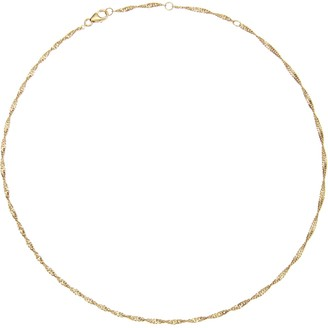 Lily & Roo Gold Twisted Rope Chain