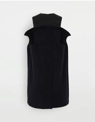Maison Margiela Bustier Wool Dress