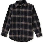 First Wave Big Boys 8-20 Plaid Button-Down Long-Sleeve Shirt