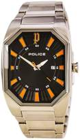 Police PL-13755JS-02MA Men's Octane Black Dial Stainless Steel Bracelet Watch