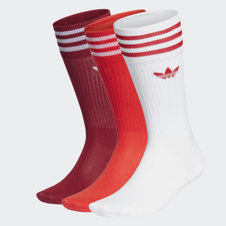 adidas Solid Crew Sock 3 Pairs