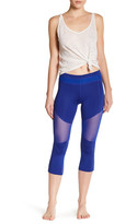 Electric Yoga Mesh Trim Capri Pant