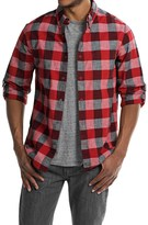 Woolrich Chambray Buffalo Check Shirt - Snap Front, Long Sleeve (For Men)