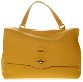 Zanellato Tote Bag In Mustard Leather