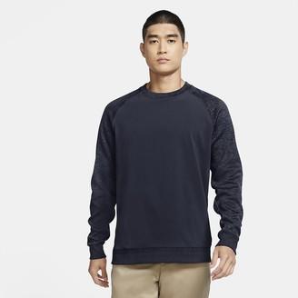 Nike Mens Long-Sleeve Golf Crew Dri-FIT Player
