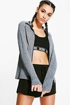 Boohoo Phoebe fit Seamless Running Jacket