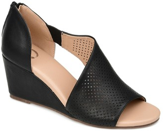 Journee Collection Aretha d'Orsay Wedge Sandal