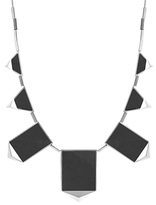 House Of Harlow Graphite Classic Station Necklace