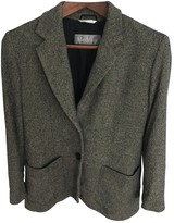Max Mara Grey Wool Jackets