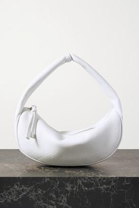 BY FAR Textured-leather Shoulder Bag