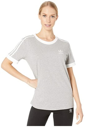 adidas 3-Stripes Tee (Black) Women's T Shirt