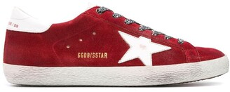 Golden Goose Superstar suede sneakers