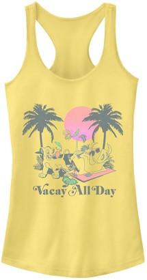 "Disney Junior's Disney's The Lion King ""Vacay All Day"" Racerback Tank"