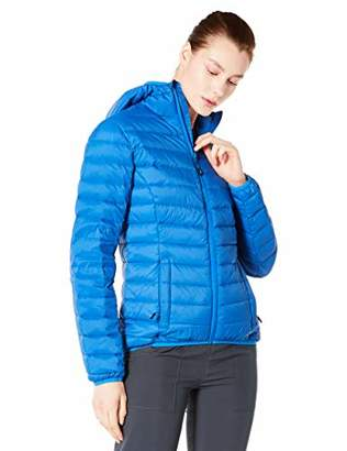 5Oaks Womens Light Weight Short Down Jacket Hooded Packable XL