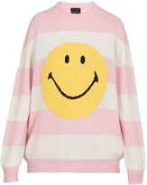 Thumbnail for your product : Joshua Sanders Striped Smiley Sweater